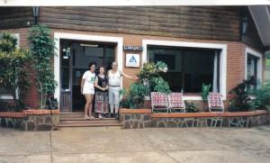 El Hostelling donde me hospedé en Iguazú